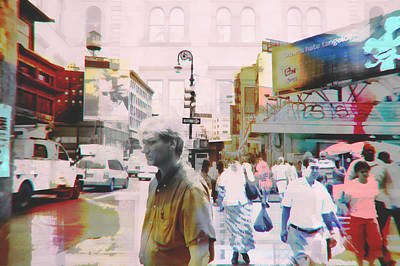 Digital Art - Streets Of New York by Susan Stone