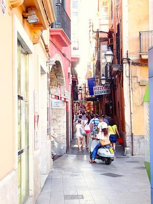 Photograph - Streets Of Palma by Alan Lakin