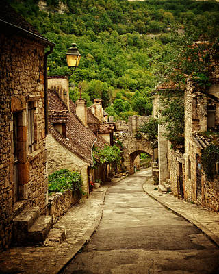 French Village Photograph - Streets Of Rocamadour by Studio Yuki