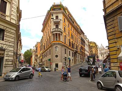 Photograph - Streets Of Roma by Alan Lakin