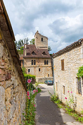 Photograph - Streets Of Saint-cirq-lapopie by Semmick Photo