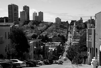 Photograph - Streets Of San Francisco by Aidan Moran