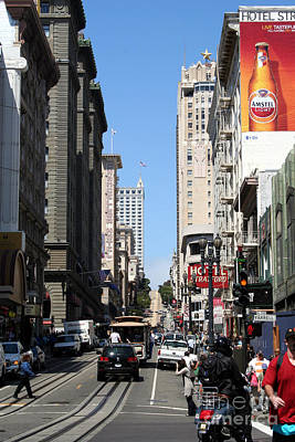Photograph - Streets Of San Francisco by John Black