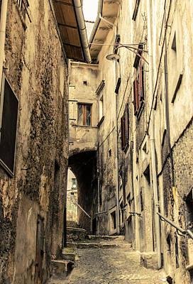 Photograph - Streets Of Scanno - Italy  by Andrea Mazzocchetti