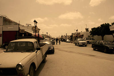 Photograph - Streets Of Tunisia by Jon Emery