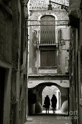 Photograph - Streets Of Venice by Louise Fahy