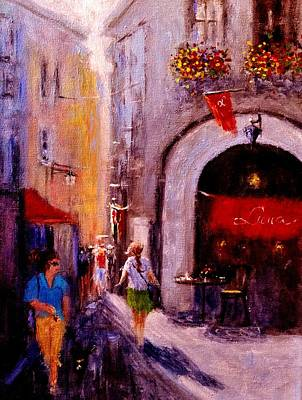 Painting - Streets Of Vernazza.. by Cristina Mihailescu