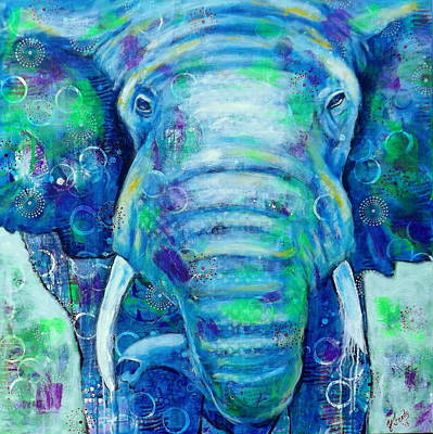 Painting - Strength From Within by Jennifer Charton