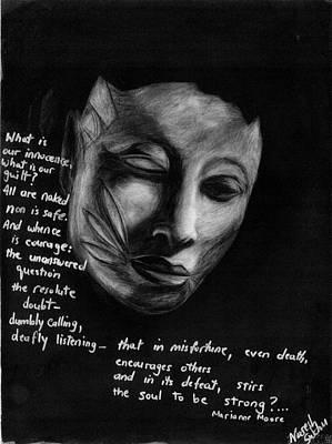 Drawing - Strength Of Spirit by Naresh Sukhu