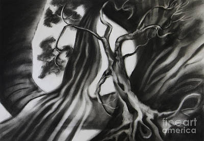 Stretch Grow And Trust Art Print