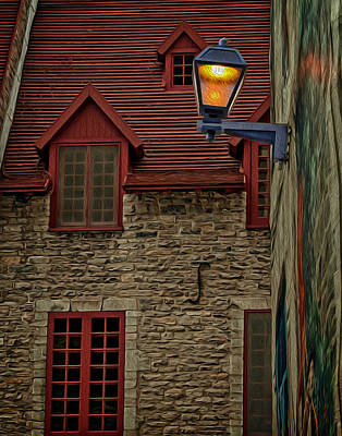 Photograph - Street In Quebec After Dawn by Phil Cardamone