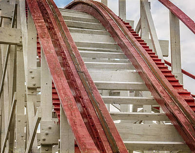 Rollercoaster Photograph - Strickers Grove by Sharon Meyer