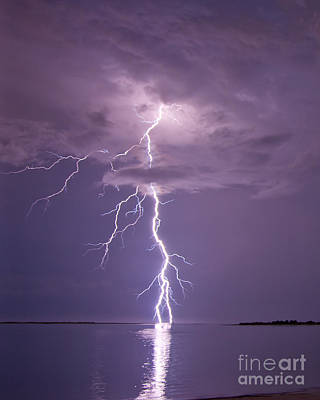 Photograph - White Lightning by Stephen Whalen