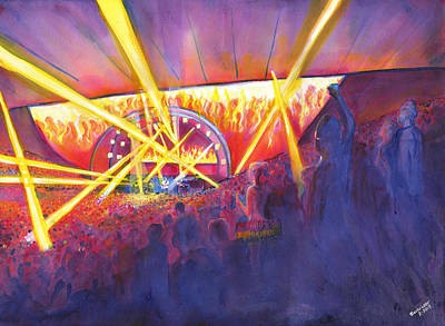 Painting - String Cheese Incident by David Sockrider