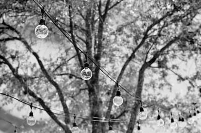 Photograph - String Lights by Laura Fasulo