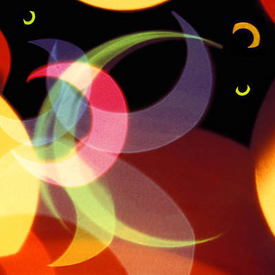 Circle Digital Art - String Of Lights 1 by Mike McGlothlen