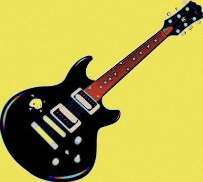 Painting - Strings Of Rock by Florian Rodarte
