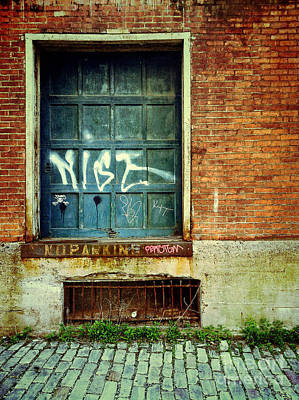 Strip District Doorway Number 1 Print by Amy Cicconi