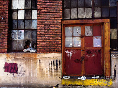 Strip District Doorway Number Seven Art Print by Amy Cicconi