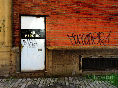 Dooways Photograph - Strip District Doorway Number Two by Amy Cicconi