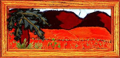 Painting - Strip Series - Mountains by Karen Buford