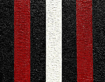 Painting - Stripe by Scott Shaver