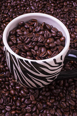 Photograph - Striped Coffee Cup by Garry Gay