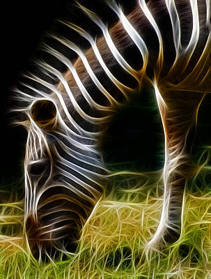 Photograph - Striped Fractal by Ricky Barnard