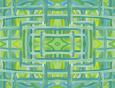 Painting - Stripes And Lines Horizontal by Barbara St Jean