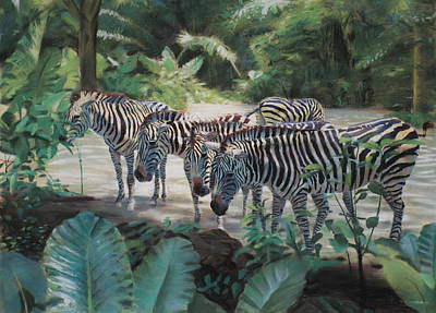 Stripes Art Print by Christopher Reid