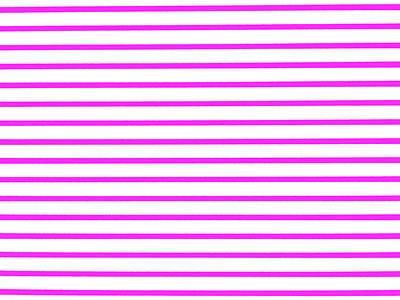 Runway Fashion Art Painting - Stripes Fuchsia by Dietmar Scherf