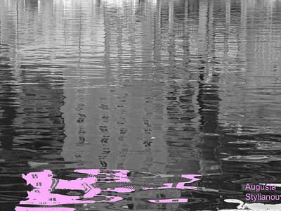 Digital Art - Stripes In The Water by Augusta Stylianou