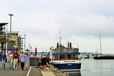 Photograph - Stroll Along Poole Quay by Katy Mei