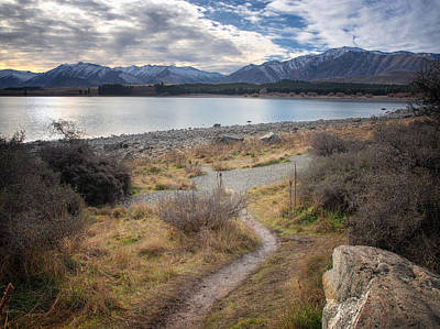 Photograph - Stroll By The Lake by Kim Andelkovic