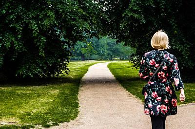 Stroll In Hyde Park Art Print by Georgina Noronha