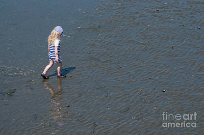 Photograph - Strolling On The Beach by Malu Couttolenc