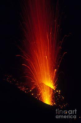 Lipari Photograph - Stromboli Volcano by API/Explorer