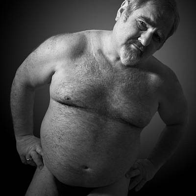 Gay Photograph - Strong Daddy by Bear Pictureart