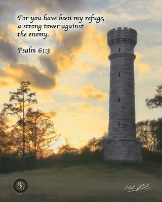 Painting - Strong Tower by Shane Garrett