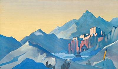 Russia Painting - Stronghold Of The Spirit by Nicholas Roerich