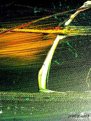 Struck By Lightning Original by Sir Josef - Social Critic -  Maha Art
