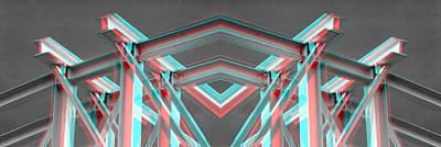 True Blood Digital Art - Structural Steel  by Simone  Felici