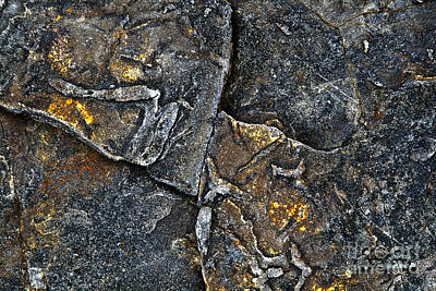 Ledge Photograph - Structural Stone Surface by Heiko Koehrer-Wagner
