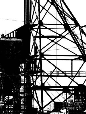 Structure 3 Art Print by Newel Hunter
