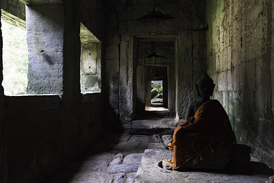 Photograph - Structures Cambodia Siem Reap 03 by Sentio Photography