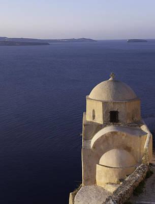 Photograph - Structures Greece Santorini 20 by Sentio Photography