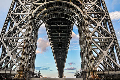 Gwb Photograph - Structure by Kristopher Schoenleber