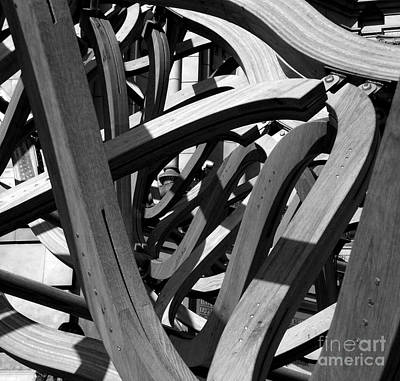Structure Art Print by Tom Gallahue