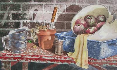 Painting - Structured by Tony Caviston