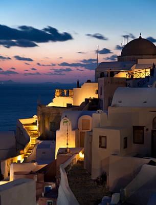 Photograph - Structures Greece Santorini 12 by Sentio Photography